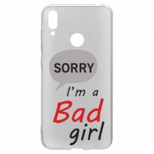 Etui na Huawei Y7 2019 Sorry, i'm a bad girl