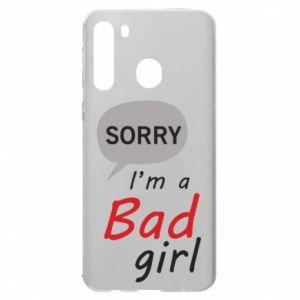 Etui na Samsung A21 Sorry, i'm a bad girl