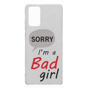 Etui na Samsung Note 20 Sorry, i'm a bad girl