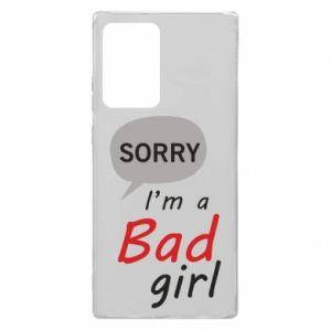Etui na Samsung Note 20 Ultra Sorry, i'm a bad girl