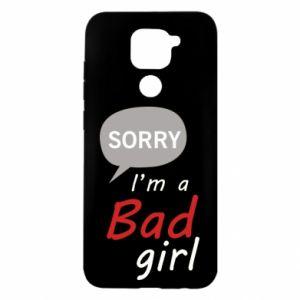 Etui na Xiaomi Redmi Note 9/Redmi 10X Sorry, i'm a bad girl