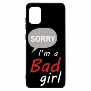 Etui na Samsung A31 Sorry, i'm a bad girl