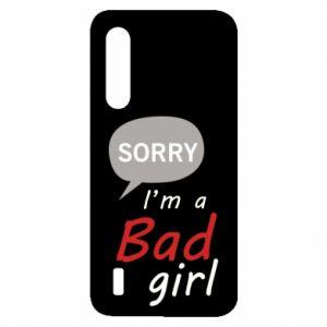 Etui na Xiaomi Mi9 Lite Sorry, i'm a bad girl