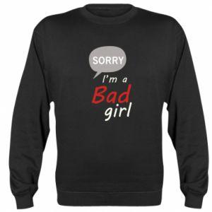 Bluza Sorry, i'm a bad girl