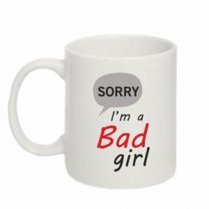 Kubek 330ml Sorry, i'm a bad girl