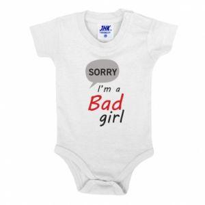 Body dziecięce Sorry, i'm a bad girl