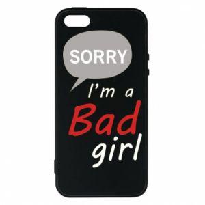 Etui na iPhone 5/5S/SE Sorry, i'm a bad girl