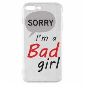 Etui na iPhone 8 Plus Sorry, i'm a bad girl