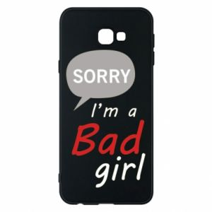 Phone case for Samsung J4 Plus 2018 Sorry, i'm a bad girl