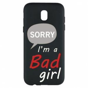 Phone case for Samsung J5 2017 Sorry, i'm a bad girl