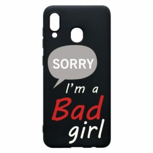 Etui na Samsung A30 Sorry, i'm a bad girl