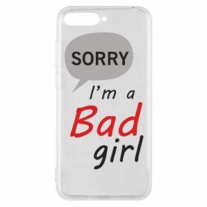 Etui na Huawei Y6 2018 Sorry, i'm a bad girl