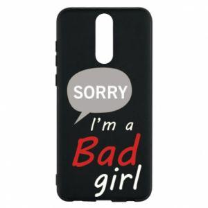 Etui na Huawei Mate 10 Lite Sorry, i'm a bad girl
