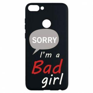 Etui na Huawei P Smart Sorry, i'm a bad girl