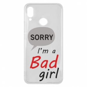 Etui na Huawei P Smart Plus Sorry, i'm a bad girl