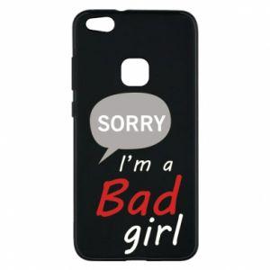 Etui na Huawei P10 Lite Sorry, i'm a bad girl