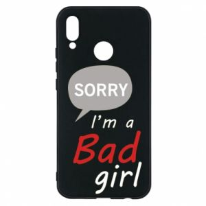 Phone case for Huawei P20 Lite Sorry, i'm a bad girl