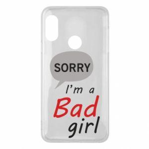 Etui na Mi A2 Lite Sorry, i'm a bad girl