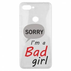 Etui na Xiaomi Mi8 Lite Sorry, i'm a bad girl