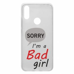 Phone case for Xiaomi Redmi 7 Sorry, i'm a bad girl
