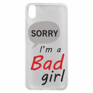 Etui na Xiaomi Redmi 7A Sorry, i'm a bad girl