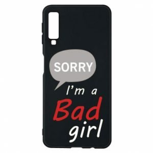 Etui na Samsung A7 2018 Sorry, i'm a bad girl