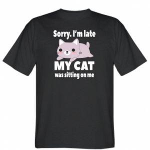 Koszulka Sorry, i'm late