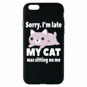 Etui na iPhone 6/6S Sorry, i'm late