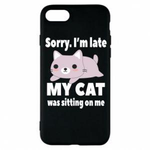 Etui na iPhone 7 Sorry, i'm late