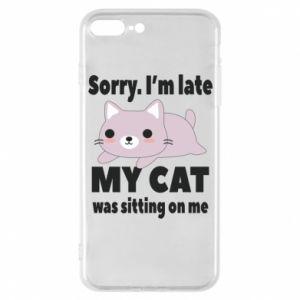 Etui na iPhone 7 Plus Sorry, i'm late