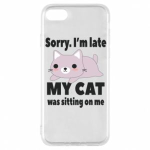 iPhone 8 Case Sorry, i'm late