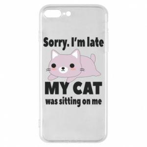 Etui na iPhone 8 Plus Sorry, i'm late