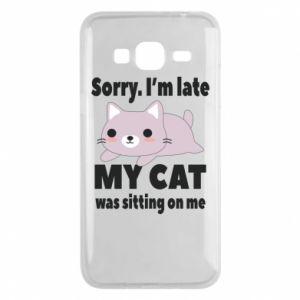 Samsung J3 2016 Case Sorry, i'm late