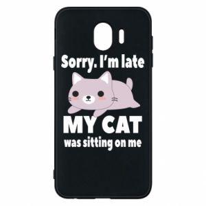Samsung J4 Case Sorry, i'm late