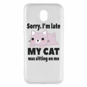 Samsung J5 2017 Case Sorry, i'm late