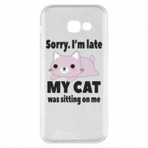 Etui na Samsung A5 2017 Sorry, i'm late