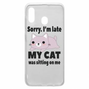 Phone case for Samsung A30 Sorry, i'm late