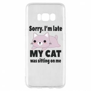 Etui na Samsung S8 Sorry, i'm late