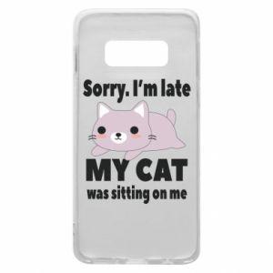 Samsung S10e Case Sorry, i'm late