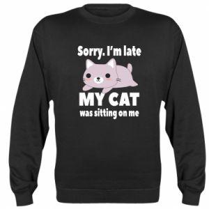 Sweatshirt Sorry, i'm late