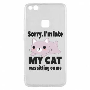 Huawei P10 Lite Case Sorry, i'm late