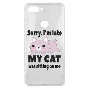 Etui na Xiaomi Mi8 Lite Sorry, i'm late