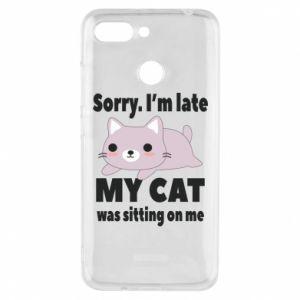 Phone case for Xiaomi Redmi 6 Sorry, i'm late