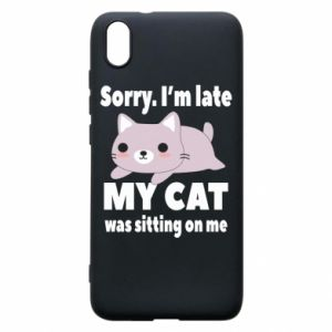 Phone case for Xiaomi Redmi 7A Sorry, i'm late