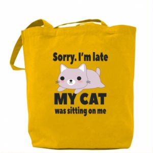 Bag Sorry, i'm late