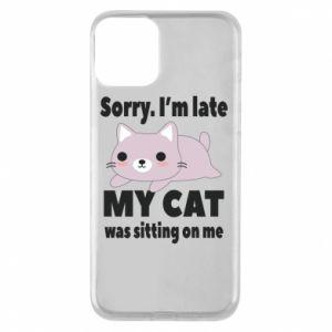 Etui na iPhone 11 Sorry, i'm late