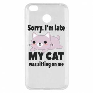 Xiaomi Redmi 4X Case Sorry, i'm late