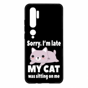Xiaomi Mi Note 10 Case Sorry, i'm late