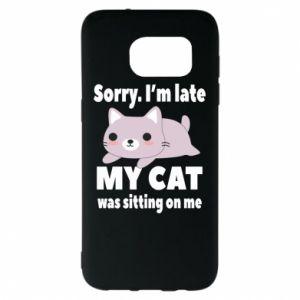 Samsung S7 EDGE Case Sorry, i'm late