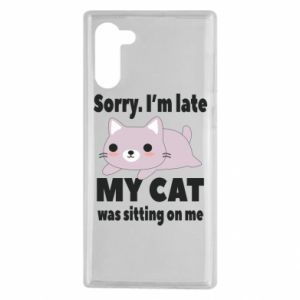 Samsung Note 10 Case Sorry, i'm late